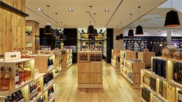 Selfridges Unveils Supersized Wine Shop
