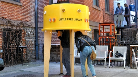 Little Free Libraries, New York