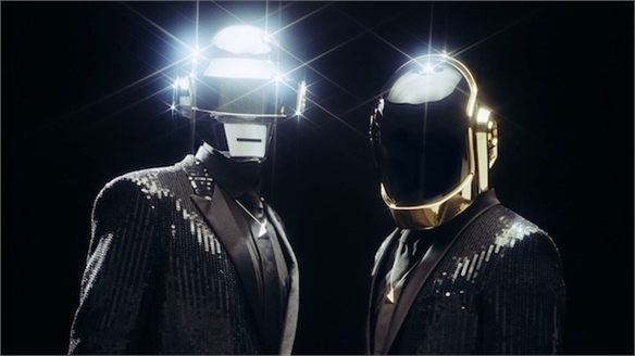 Daft Punk Launch Random Access Memories