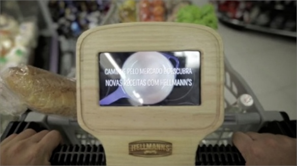 Hellmann's Interactive Shopping Carts Boost Sales, Brazil