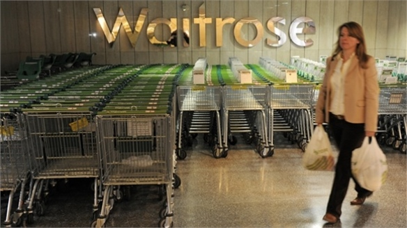 Waitrose Welcome Desks Bridge On/Offline Divide