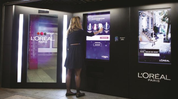 L'Oreal's Intelligent Subway Vending, NYC | Stylus | Innovation Research & Advisory