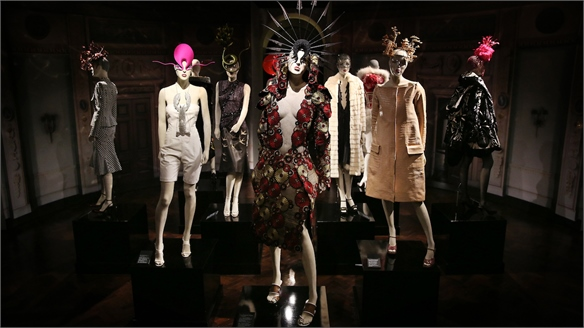 Isabella Blow at London's Somerset House