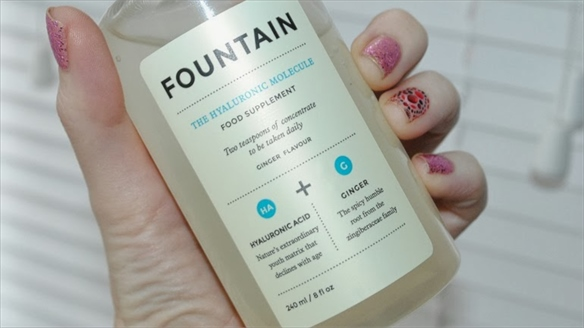 Drinkable Moisturiser from Fountain