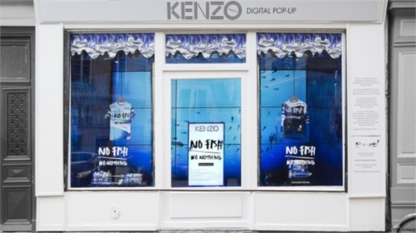 Retail Activism: Kenzo's Digital Pop-Up