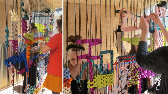 Milan 2014: Can a Room Be a Loom?
