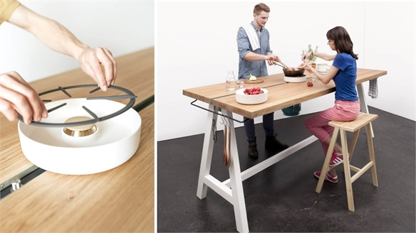 Cooking Table: Moritz Putzier