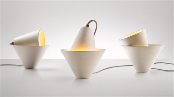 Hyper-Adjustable Ceramic Lamp