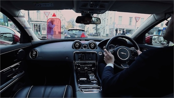 Jaguar's 360-Degree Urban Windscreen