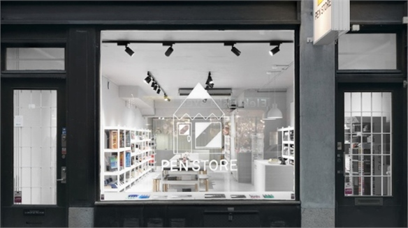 Pen Store: Scandi Retail-Work Hub