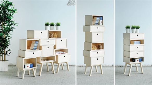 Rianne Koens: Stackable Storage