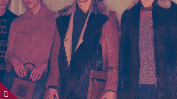 Materials: Men's Catwalk A/W 14-15