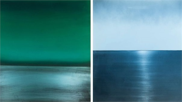 Miya Ando: Anodised Aluminium Paintings