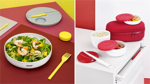 At-Desk Dining: Sigg Lunchboxes by Ecal