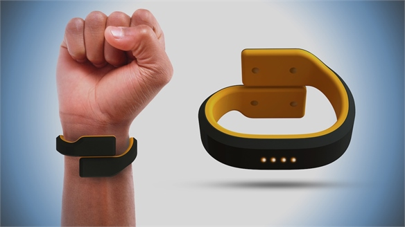 Wearable Emits Electric Shocks