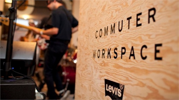 Levi's Commuter Workspace