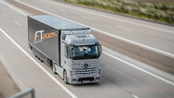 Mercedes-Benz launches Autonomous Truck