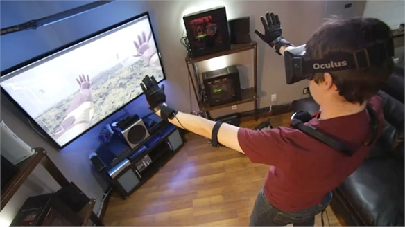 Control VR: Gesture-Control Gloves
