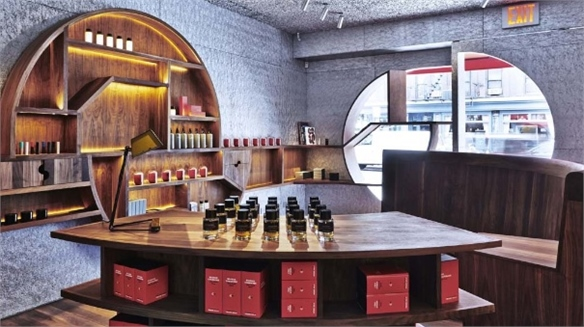 Fragrance Retailer Highlights Architects