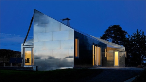 JVA Architects: The Aluminium Cabin