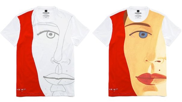 Gap & Visionaire's Colour-Changing T-Shirts