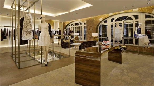 Fendi Flagship Embraces Art Ethos