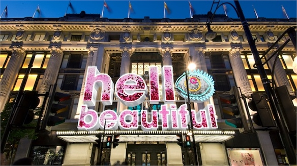 Selfridges Sparks Beauty Debate