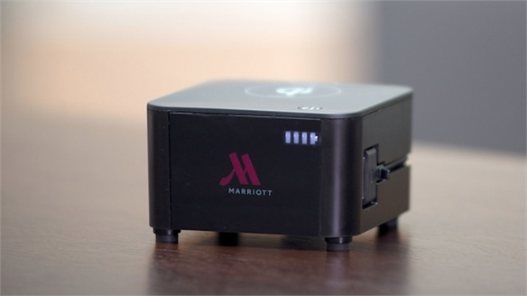 Marriott's Wireless Charging Stations