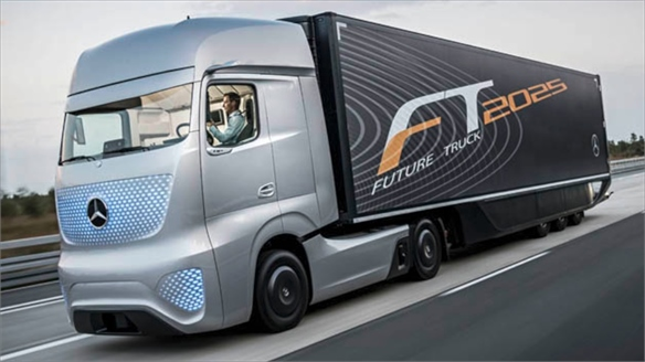 Mercedes-Benz: Future Truck 2025