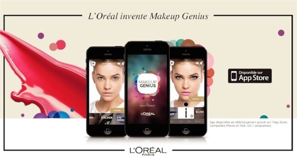 L'Oréal's Virtual Make-Up App