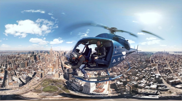 New York Times' Virtual Reality Experience