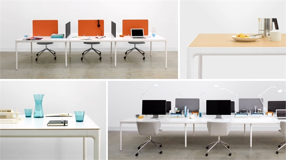 Multipurpose Workplace Tables from Modus