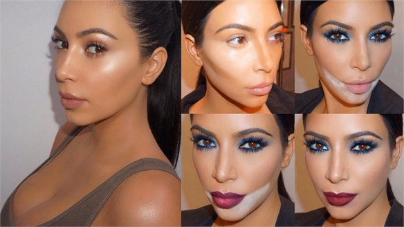 Kim Kardashian's Make-Up Tutorials
