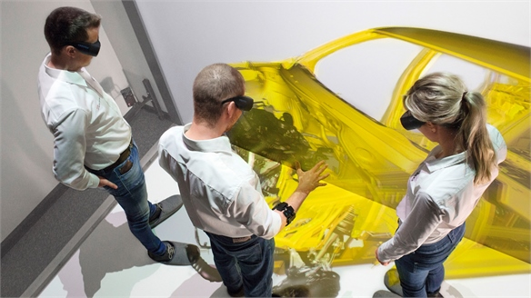 Audi's Virtual Assembly: Adopting Gesture Technology