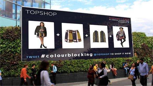 Real-Time Retail: Topshop Uses Twitter to Tap LFW Trends