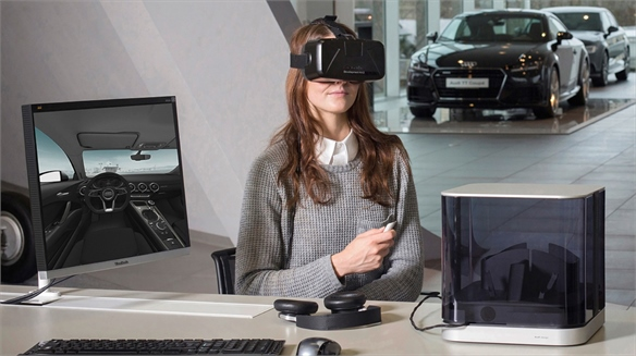 VR-Powered Audi Showroom Experience
