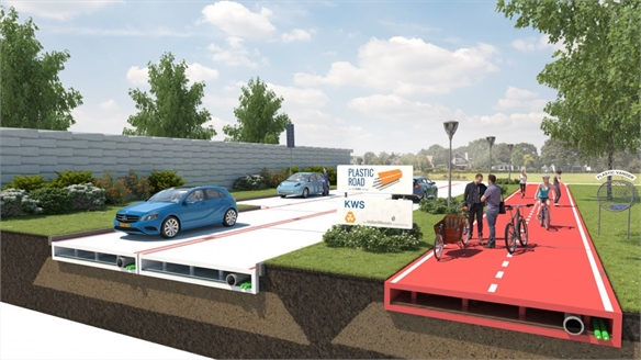 Smart Plastic Roads