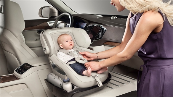Volvo: Child Car Seat Innovations