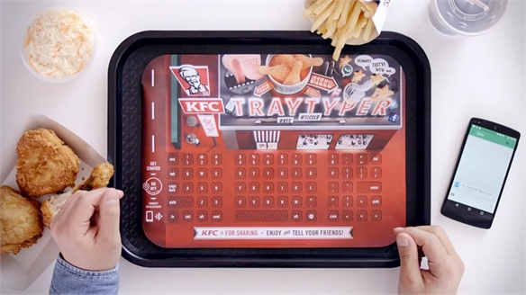 KFC Encourages Digital Dining