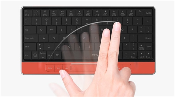 Moky: Keyboard & Touchpad Hybrid