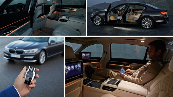 The New BMW 7 Series: High-Tech Luxury