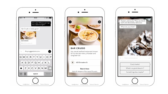 AI App Recommends Restaurants