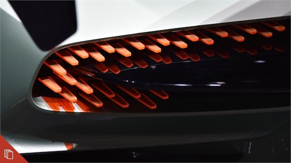 Geneva 2015: Colour, Material & Trim