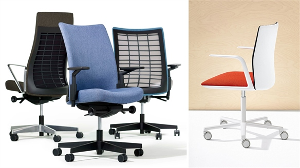 Office Chair Updates: Knoll & Arper