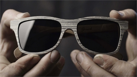 Shwood: Newspaper Glasses