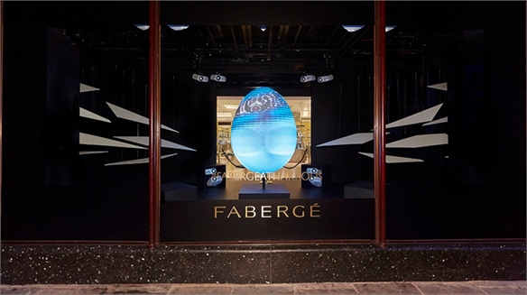 Fabergé x Harrods Easter Windows Takeover