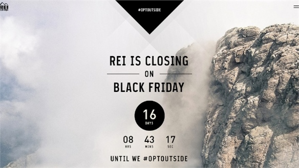 REI's Anti-Black Friday Campaign