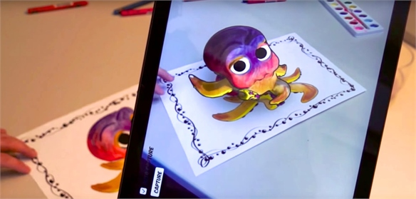 Colouring In with Augmented Reality