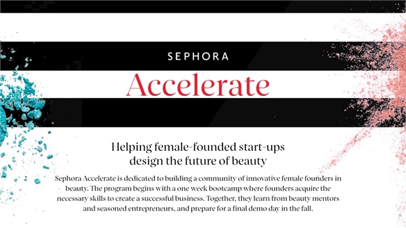 Sephora Accelerate: Beauty Start-ups