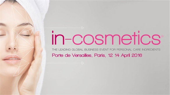 In-Cosmetics Paris 2016